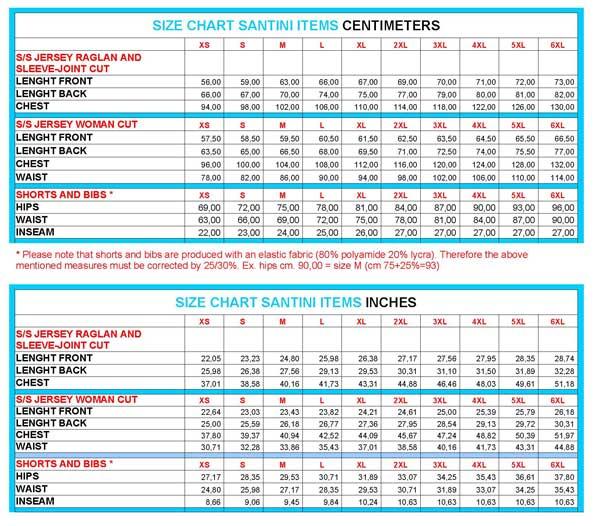 Bicycle Shoe Size Conversion Chart