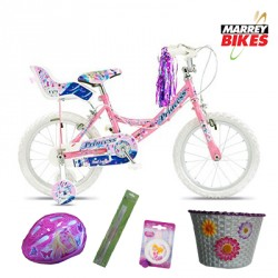 Concept Princess Girls 16 Inch Bike Package 2016