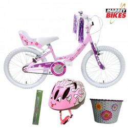 Ammaco Professional Izzie Girls 20 Inch Bike Package 2016
