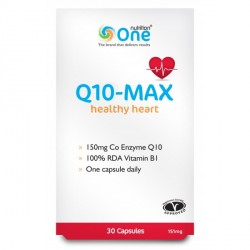 One Nutrition Q10 Max 150mg 2016