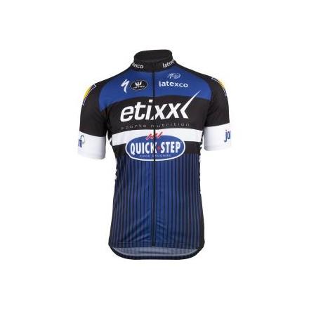 b3afa2b2f Etixx Quick-Step Short Sleeve Long Zip Jersey - Marrey Bikes