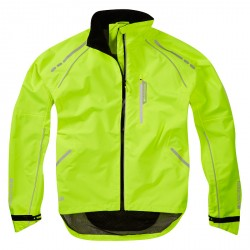 Madisson Prime Men's Waterproof jacket, hi-viz yellow