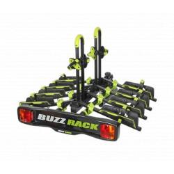 Buzzrack Buzzwing 4 Folding Tow Ball Bike Carrier