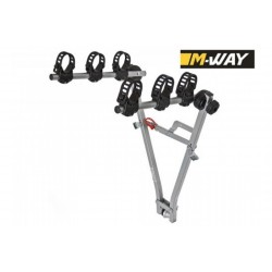 M-WAY TYPHOON TOWBALL MOUNTED 3 BIKE & CRADLES