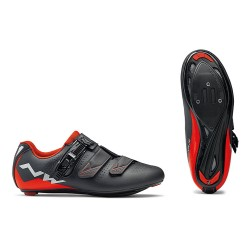 Northwave - 2018 Verve 2 SRS Black/Red Shoes