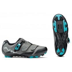 Northwave - 2018 Sparkle 2 SRS Anthracite/Aqua Shoes