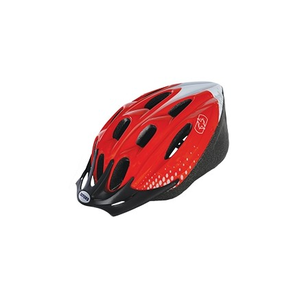 Oxford F15 Red & White Cycling Helmet