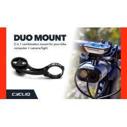Cycliq Duo Mount - Combination mount for your cycling computer and camera / light