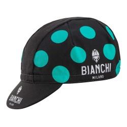 Bianchi Neon Celeste Polka Cap