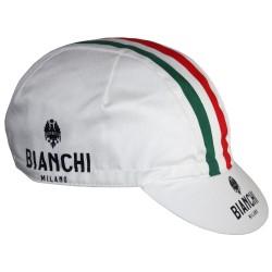 Bianchi Neon White Cotton Cap