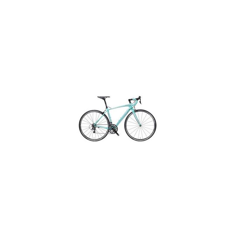 Bianchi Infinito CV Dama Bianca Ultegra 11sp Compact 2019 Road Bike ... 284ffbedb