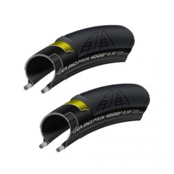 Continental Grand Prix 4000s II 700x25c Foldable Tyres x 2