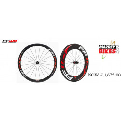 F4R FULL Carbon Clincher and Rear F9R Wheelset