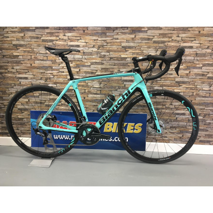 Bianchi Infinito CV Disc Ultegra 11sp Compact 2019 Road Bike - Marrey Bikes 88f901b4d