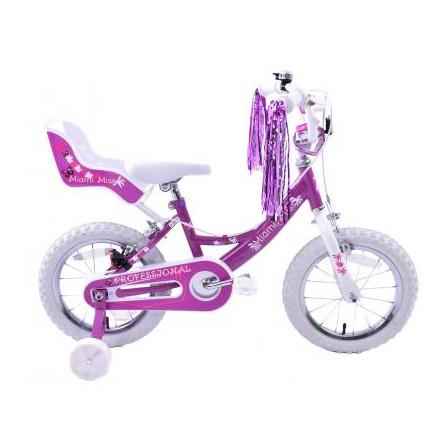 """MIAMI MISS GIRLS 14"""" WHEEL BMX BIKE"""