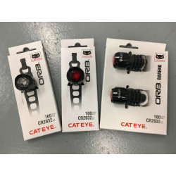 Cateye Lightsets Front & Rear