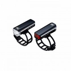 CATEYE DUPLEX Front/Rear Helmet Battery Light