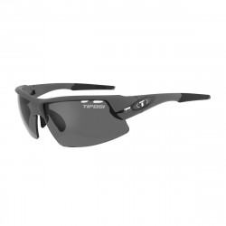TIFOSI CRIT MATTE GUNMETAL POLARISED FOTOTEC PHOTOCHROMIC SMOKE LENS SUNGLASSES