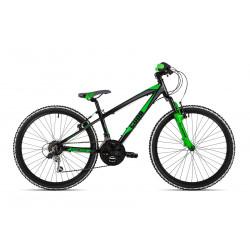 "Cuda Kinetic Junior Bike - Black - 24"""