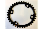 Absolute BLACK Premium Shimano 110/4 bcd compatible oval chainring