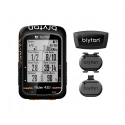 Bryton Rider 450 inc Cadence + Speed + HRM Bundle