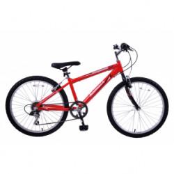 "Ammaco Performer 24"" Wheel  6 Speed Boys Bike"