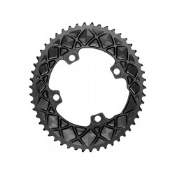 Absolute Black PREMIUM OVAL ROAD 2X CHAINRING FOR ALL FSA ABS CRANKS 4 & 5 BOLT