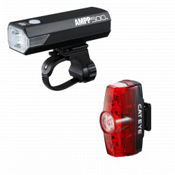 CATEYE AMPP 500 & RAPID MINI Front & Rear Light Set
