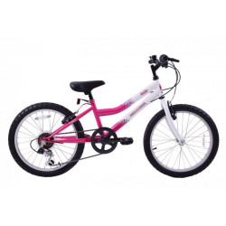 "PROFESSIONAL SPARKLE 20"" WHEEL GIRLS 6 Speed Bike"
