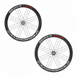 CAMPAGNOLO BORA ONE 50 WHEELSET CLINCHER CAMPAGNOLO WITH BR-BO500 BRAKE PADS