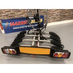Peruzzo 668/4 ETC Car Rack Deluxe 4 Bike Platform-Black