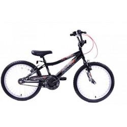 Professional Spider 20 '' Boys Black Bike