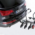 Mottez Bike rack platform coupling 3 bikes