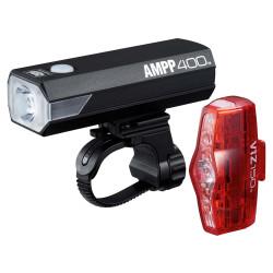 CATEYE AMPP 400 / VIZ 150 BIKE LIGHT SET