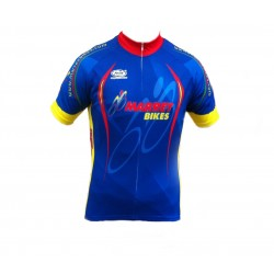 Marrey Bikes Short Sleeve Cycling  jersey