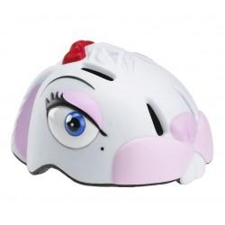 Crazy Stuff white rabbit helmet