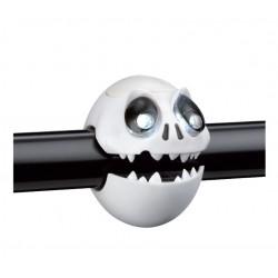 skull bicycle lightset