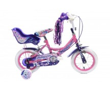 """PRINCESS 12"""" WHEEL PINK WITH DOLLY SEAT"""