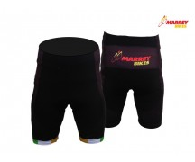 Marrey Bikes Black Waist Shorts