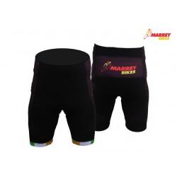 Marrey Bikes Black Waist Shorts