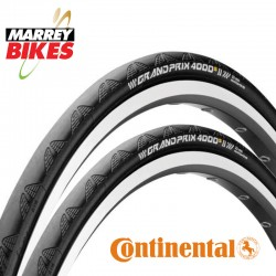 Continental GP 4000S II Road Bike Tyres  (Tyres x 2)