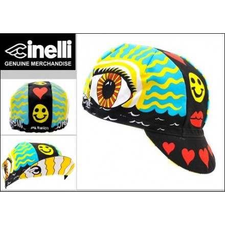 e4ce3f45c8b Cinelli Eye of the Storm Cotton Cycling Cap in stock at Marrey Bikes