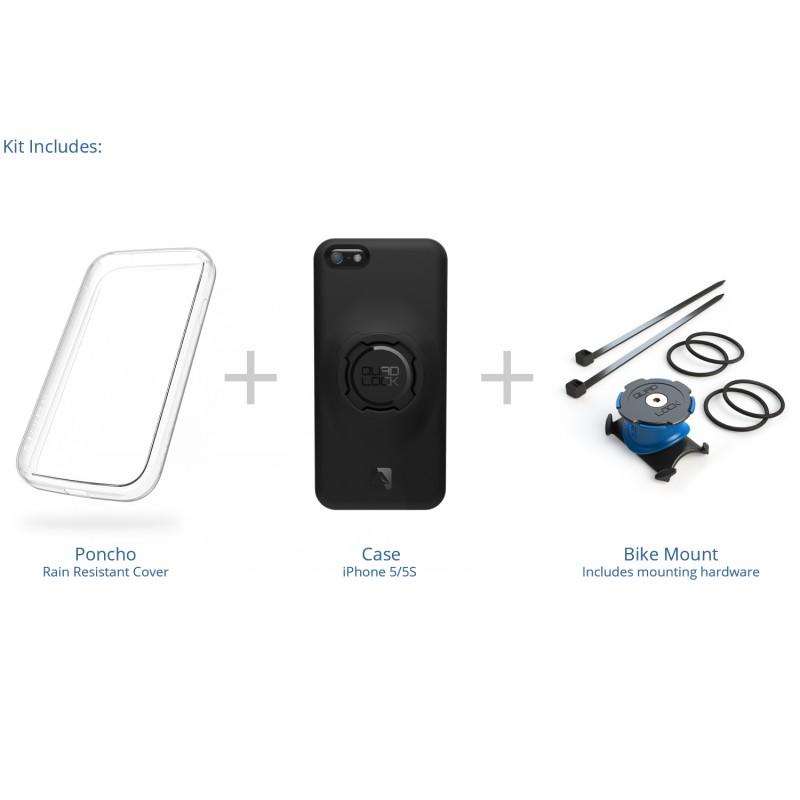 new arrival eecd0 b8bc2 Quad Lock iPhone 5 Bike Kit