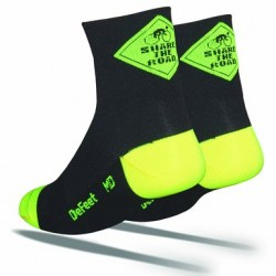 DeFeet Aireator Share the Road Cycling Socks