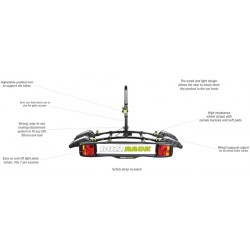Buzzrack Buzzybee 2 Tow Ball Platform Bike Carrier