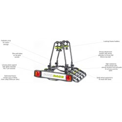 Buzzrack Buzzquattro Tow Ball Platform Bike Carrier