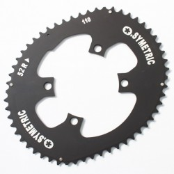OSYMETRIC Chainring Compact 110mm - 52 4 BRANCHES 11V