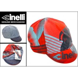 Cinelli Bespoke Cycling Cap Red/Gold