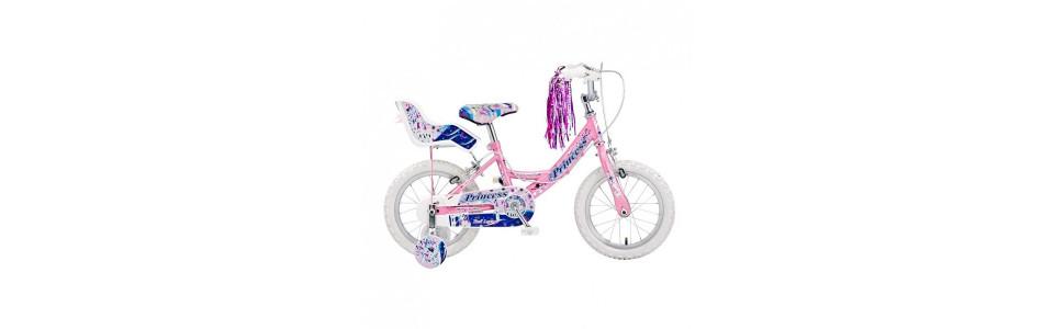 """Girls Bikes 4 years + (14""""Wheels)"""